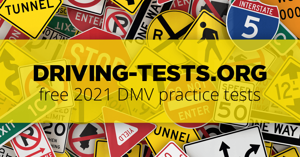 free dmv practice test for learner's permit & driving license 2019