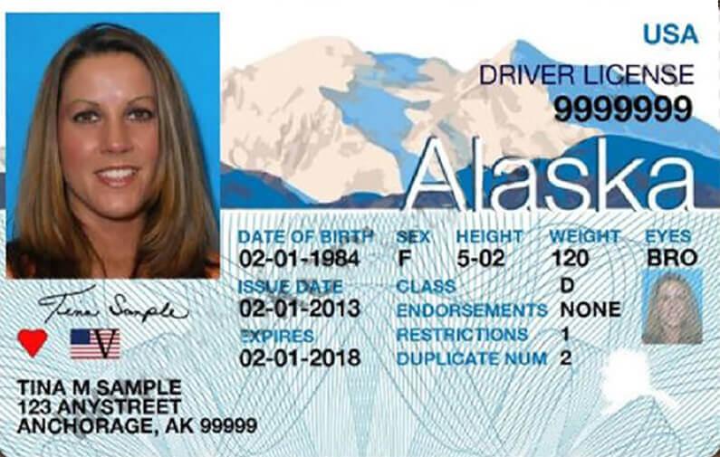 driver's license in Alaska