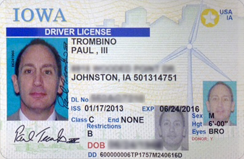 iowa drivers license renewal gold star