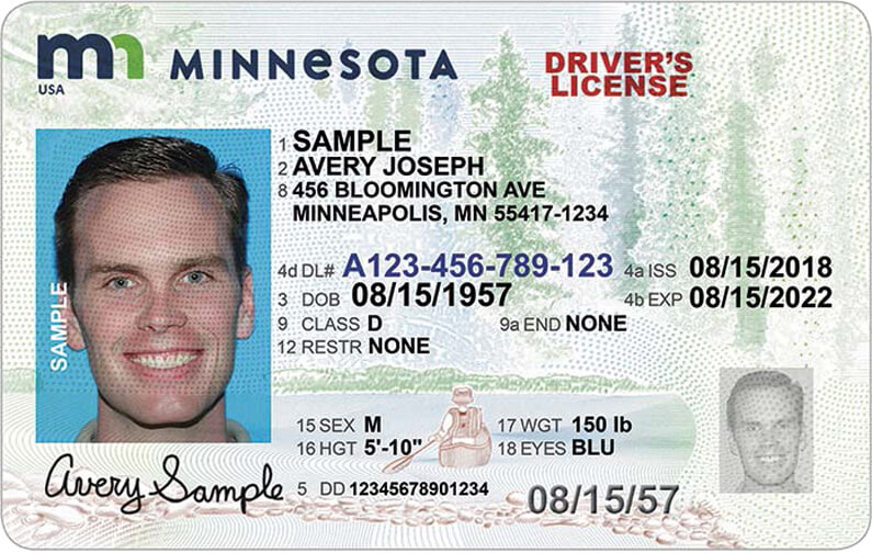 Minnesota Driver S License Application And Renewal 2021