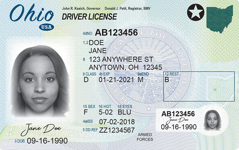 va drivers license class d