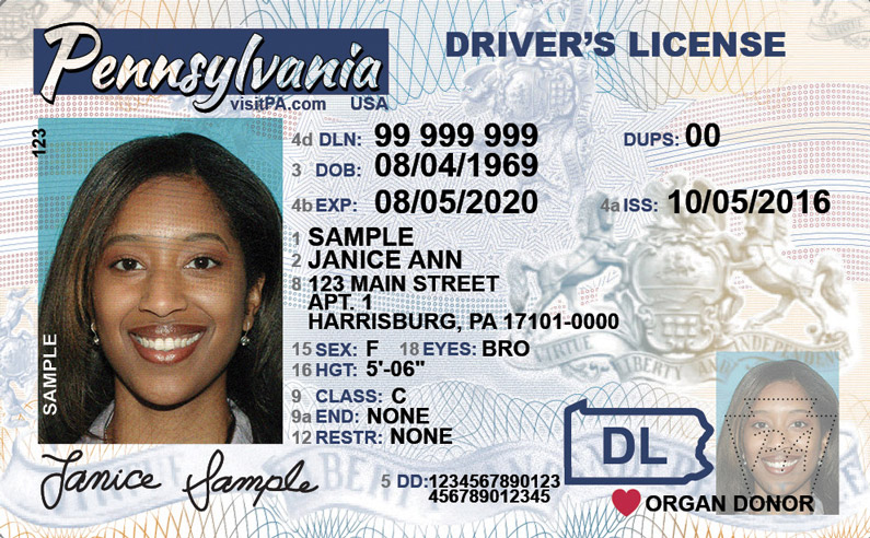 pa drivers license road test requirements