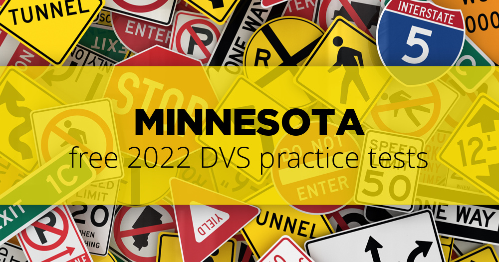 Free Minnesota (MN) DVS Practice Tests – Updated for 2019