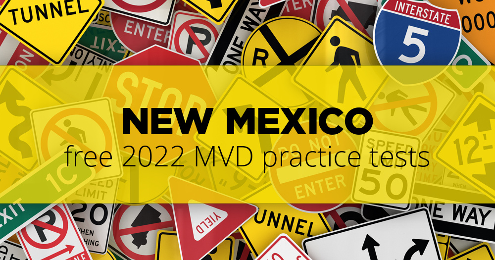 Free New Mexico Mvd Permit Practice Test 2019 Nm