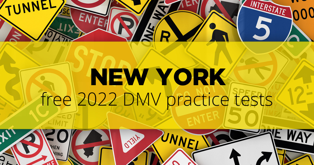 Free New York (NY) DMV Practice Tests – Updated for 2019