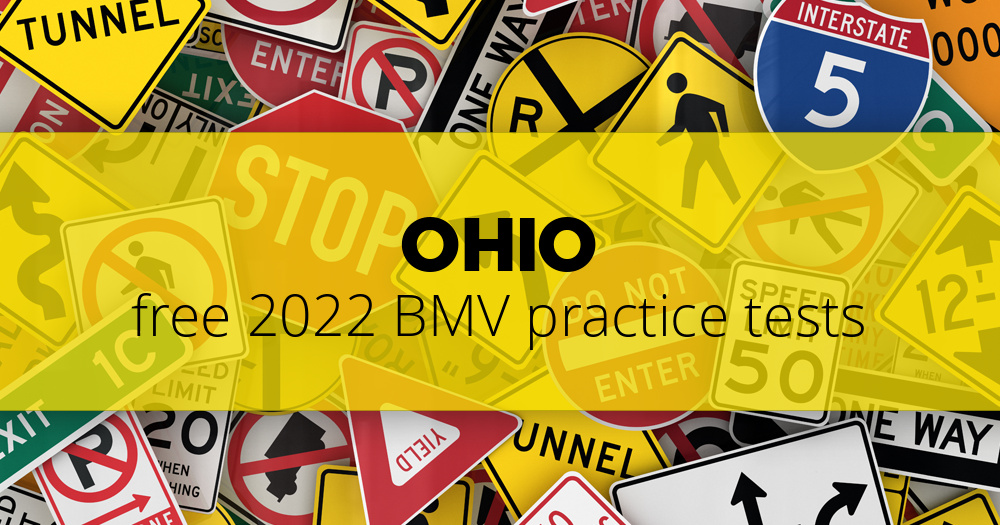 Free Ohio (OH) BMV Practice Tests – Updated for 2019