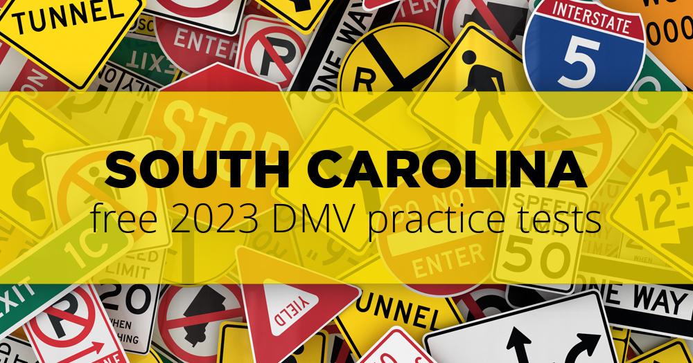 south carolina drivers permit test