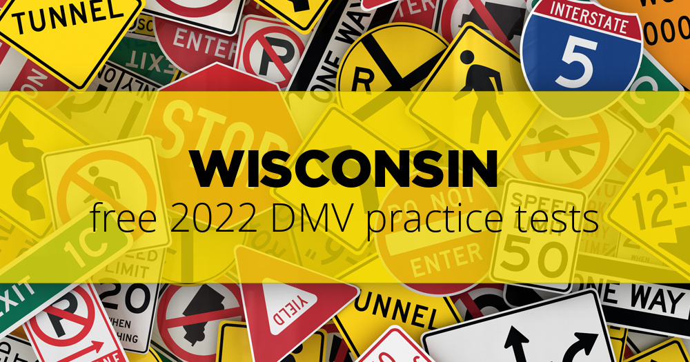 Free Wisconsin WI DMV Practice Tests Updated For 2019
