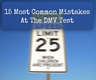 DMV Test: 15 Common Mistakes to Avoid