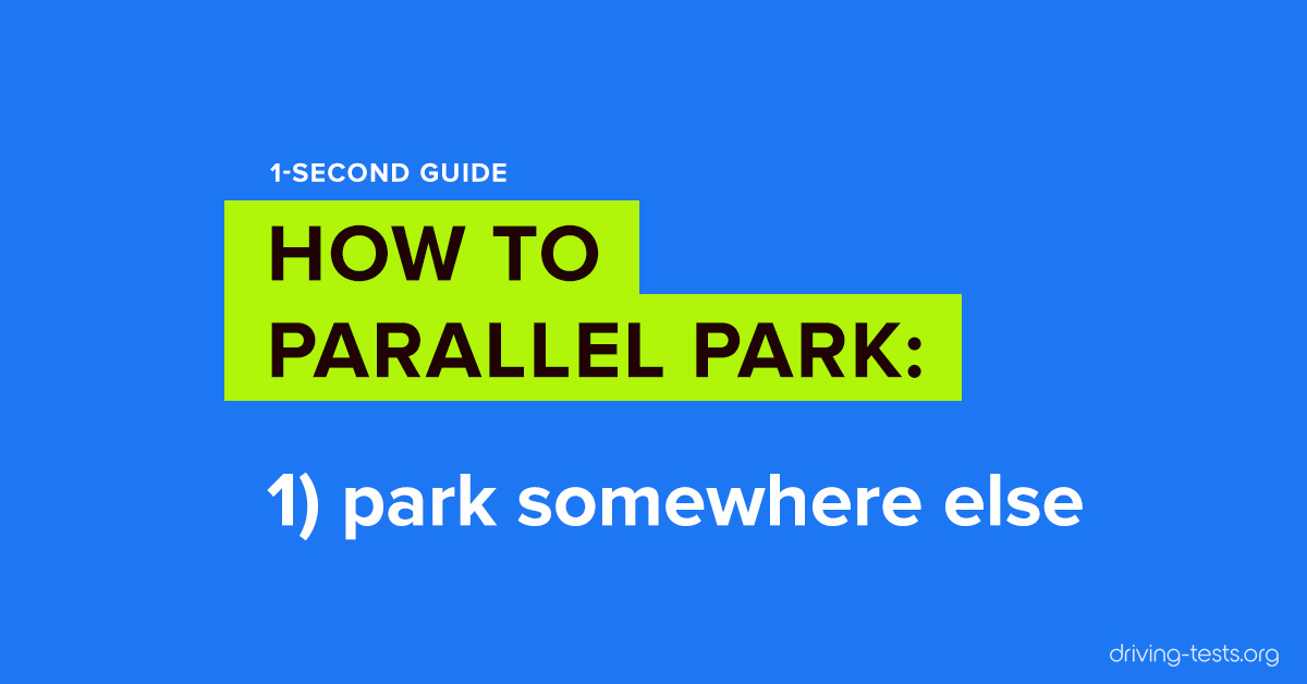 How To Parallel Park 10 Ridiculously Easy Parallel Parking Steps