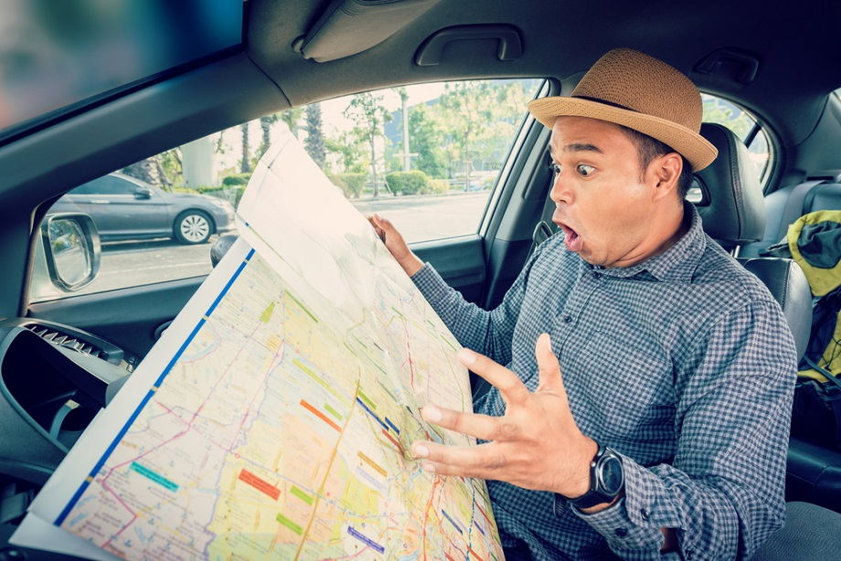 This Is How You Read a Road Map: 6 Lifesaving Tips Driving Map Of Usa With Distances on