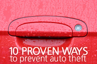 10 Proven Ways to Prevent Auto Theft