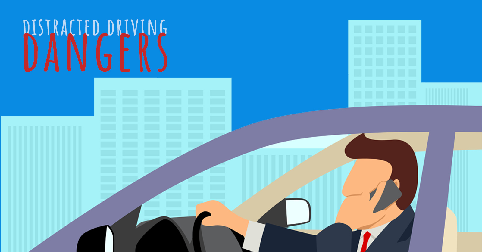 Texting While Driving >> Distracted Driving - Driving-Tests.org